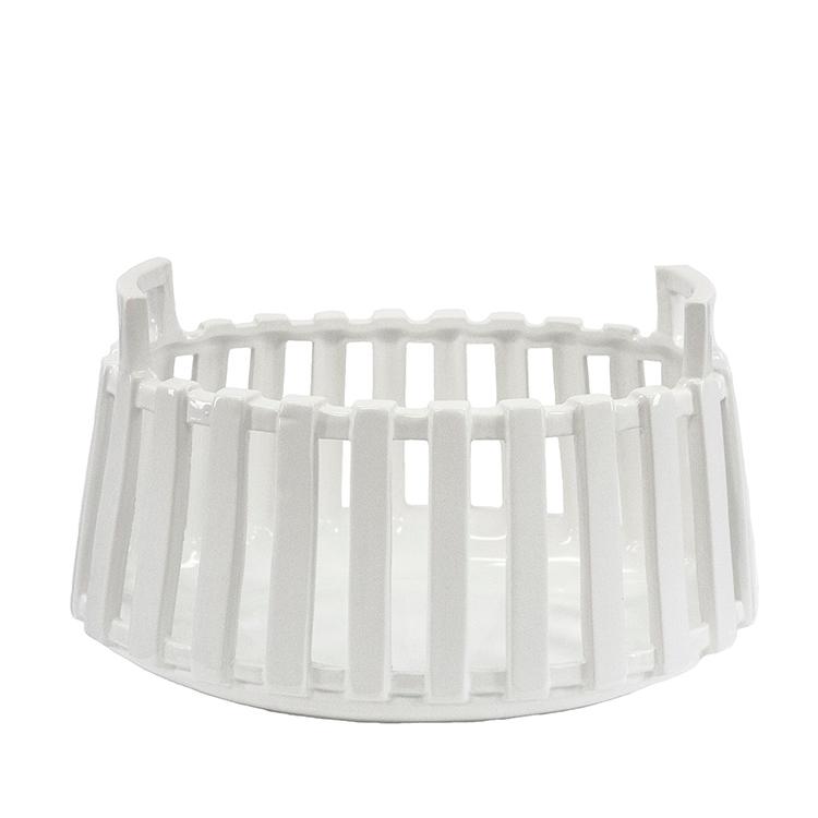 Bowl blanco de cerámica