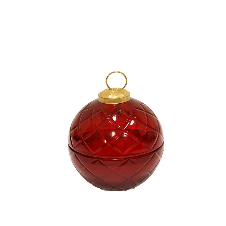Vela en esfera roja I
