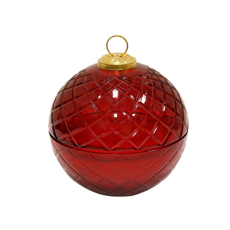 Vela en esfera roja II