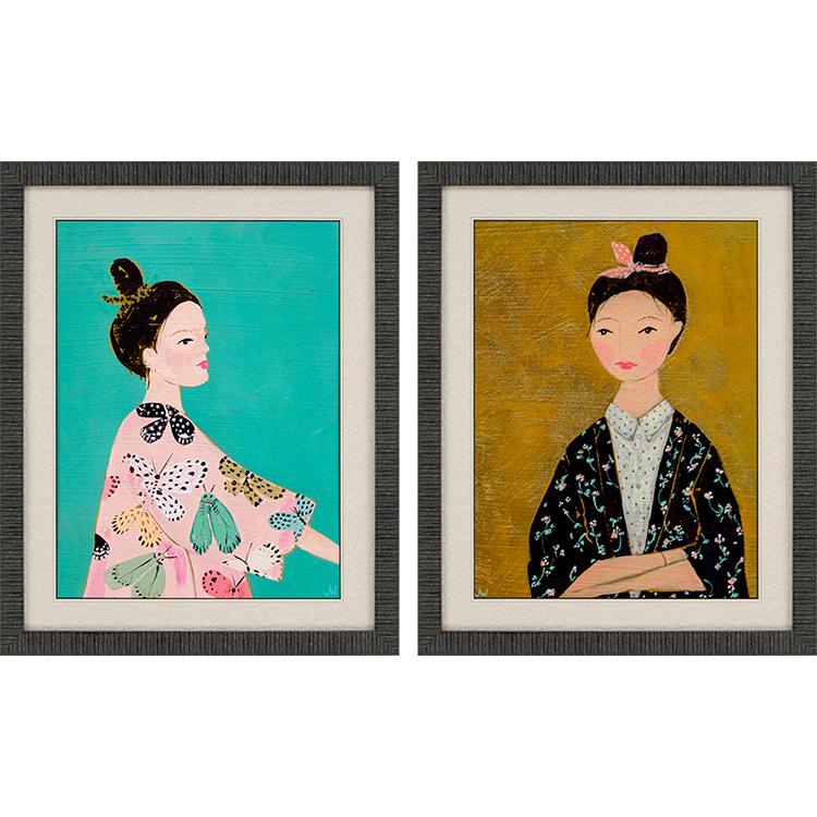 Cuadros Kimonos