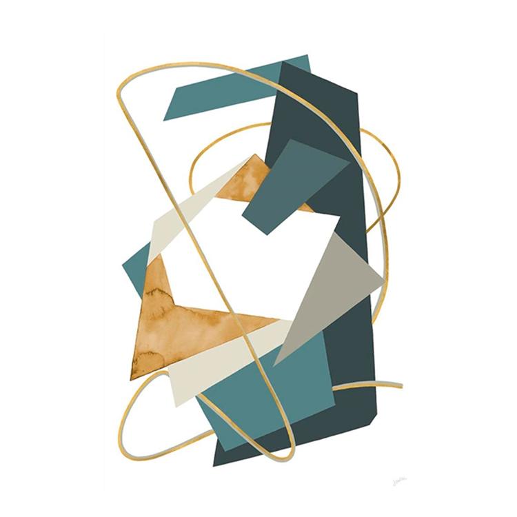 Cuadro Golden Strings II