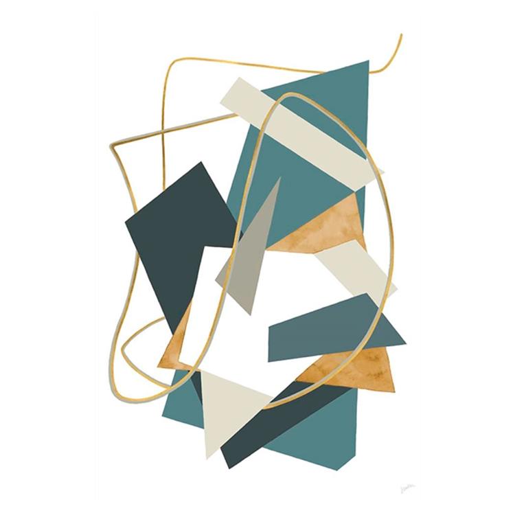Cuadro Golden Strings III