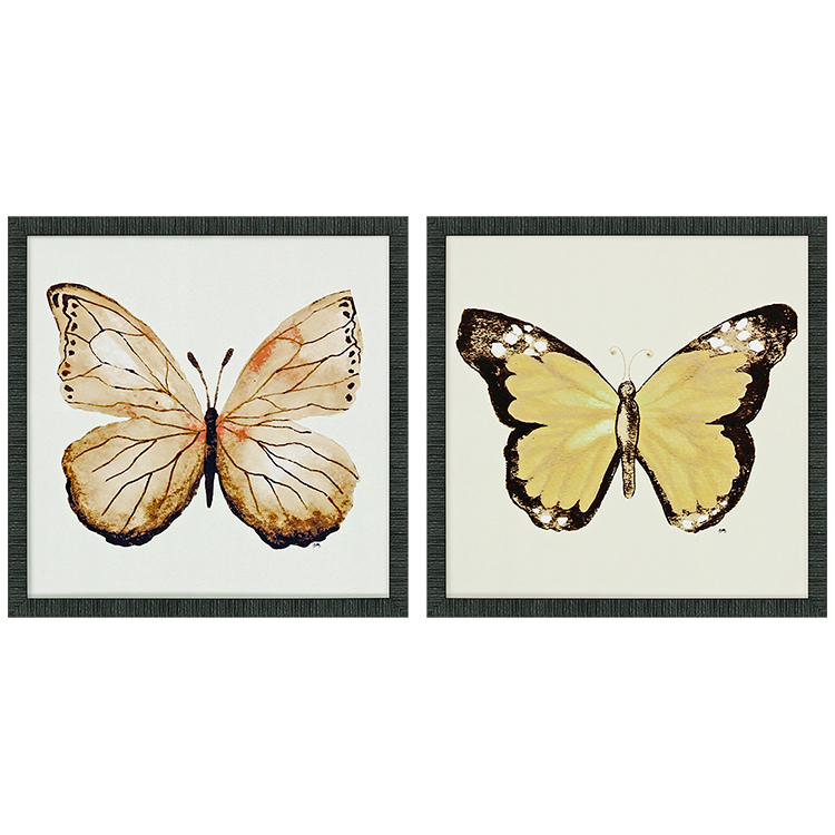 Cuadro Butterfly of Gold I