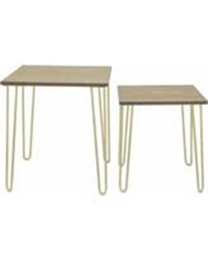 Mesas laterales de madera