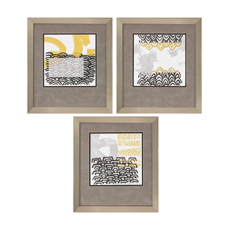 Cuadro de Bloques Abstractos II