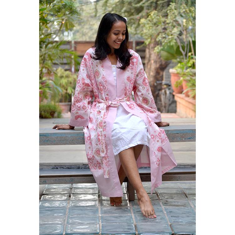 Kimono Istanbul Blush