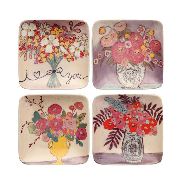 Platos de flores