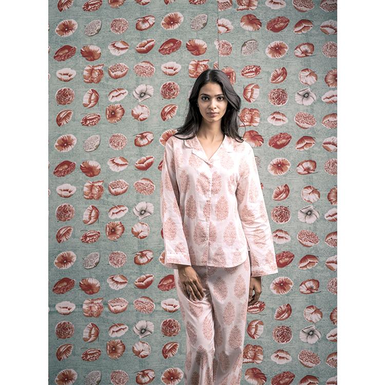 Pijama Meena Coral Vanessa